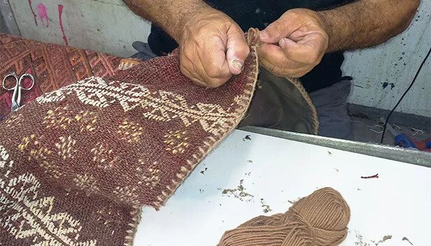 טיפול בשטיח